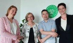欧盟气候变化知识与创新团体一行到访