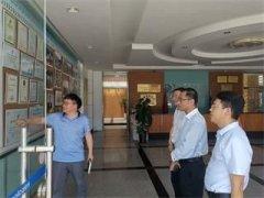 中信环境技术有限公司高级副总裁王宁一行到聚慧科技考