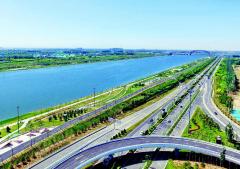 汾河景区生态治理成效显著 形成绿色生