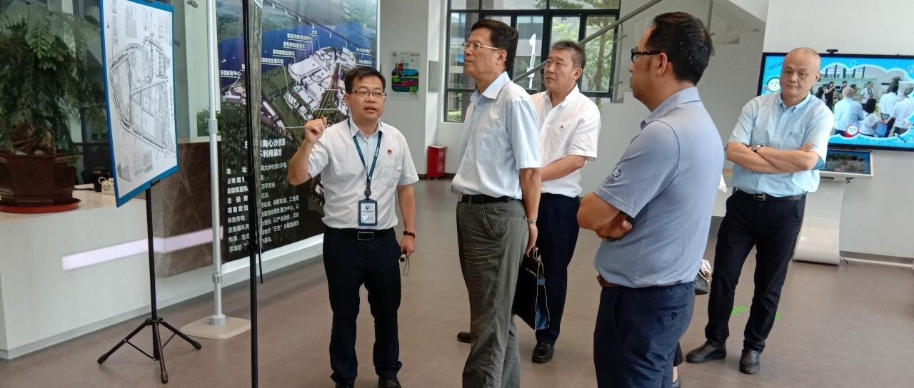 中国循环经济协会会长祝兴祥带队赴荷兰驻广州总领事馆
