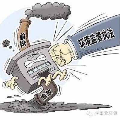 """""""超标排放+拒不改正"""",一企业被按日"""