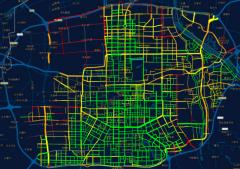 西安首次利用出租车走航大气监测平台