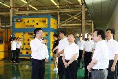 长沙市长带队到永清环保调研产业链建