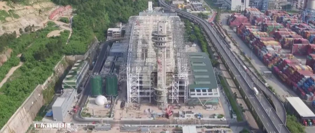 深圳日均垃圾焚烧量将超17000吨