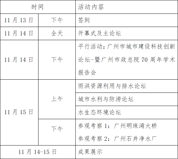 2019(第四届)城市防洪排涝国际论坛2号通知