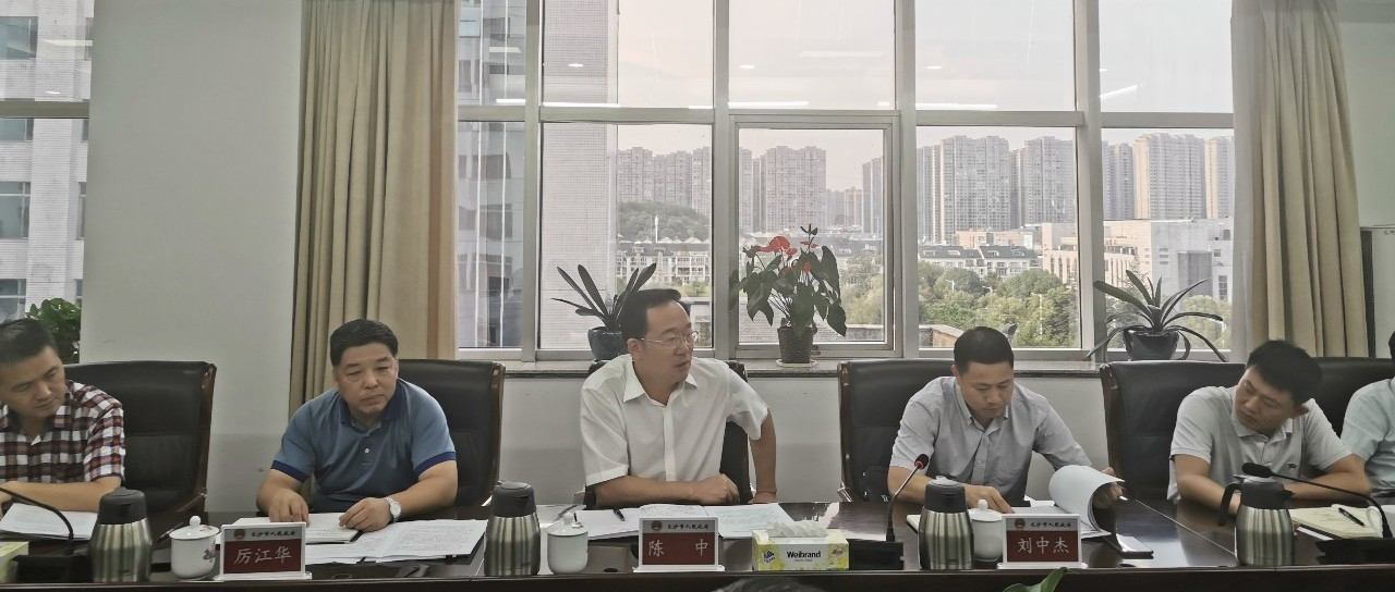 陈中调度龙王港枯水期河道应急补水工程推进情况