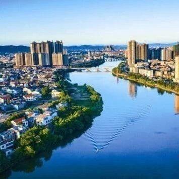 宁乡市:清水一湾舞白鹭 风光两岸映桃源