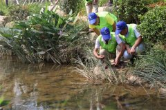 金华市生态环境局组织开展巡河护河活动