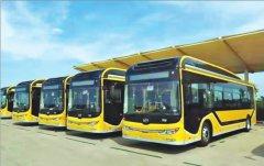 """加油改充电公交""""绿""""意浓 哈尔滨新能源公交车占比72."""