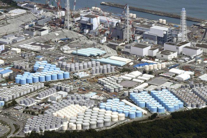 福岛核污水储量临近极限 日本环境大臣