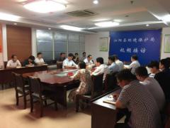 泗阳县政府分管领导调研生态环境工作