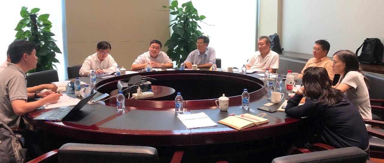 中国循环经济协会祝兴祥会长带队