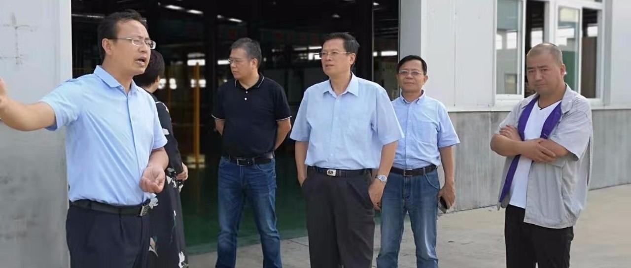 中国循环经济协会会长祝兴祥带队赴烟台调研有机废弃物