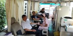 生态环境局醴陵分局积极开展义务献血
