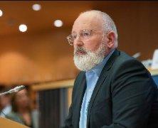 欧盟委员会第一副主席蒂默曼斯:力挺2030年减碳50%目标