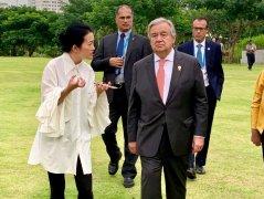 """联合国秘书长:缓解气候变化 """"必须克服煤炭成瘾"""""""