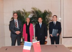 生态环境部部长会见法国生态与团结化转型部部长