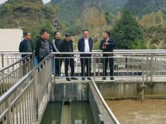 杨平副市长对紫云自治县生态环境保护