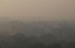 印度空气污染犹如毒气室 准妈妈护婴避免外出
