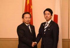 生态环境部部长会见日本环境大臣、韩国