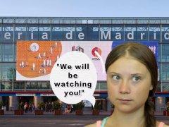 瑞典女孩格蕾塔再启程――联合国气候变化大会明日拉开