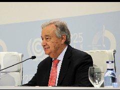 马德里气候变化会议开幕:联合国秘书