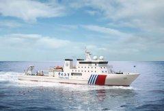 我国首艘深远海大型专业海道测量船在江