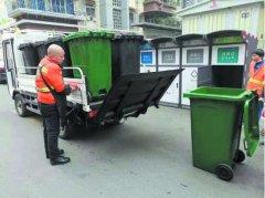 """5300多户老旧小区 27个垃圾投放箱  成都绿色生活""""盖"""