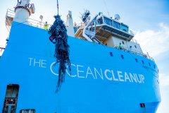 海洋吸尘器完成首次任务 下一步:为垃圾再制品建立透