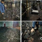环境执法人员联合执法 查处一非法炼铝厂