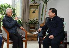 生态环境部部长李干杰看望慰问曲格平、周生贤