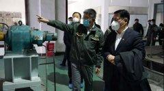 河南省生态环境厅调研新型肺炎疫情环境防控