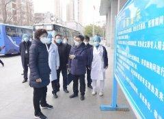 安徽省生态环境厅厅长深入医院社区,