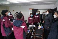 安徽省生态环境厅领导深入疾控中心与