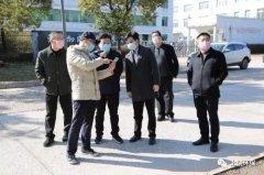 上饶市生态环境局领导调研大气污染防