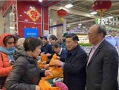 纽约华人囤食材 超市塑料袋不足 上千环保袋30分钟领完