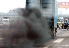 长沙严查超标柴油货车尾气污染