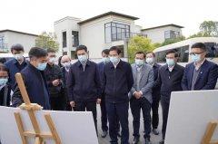 江西省领导来庐山西海调研,强调要加快构建江西特色的