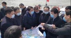 江西鄱阳湖省级湖长到九江市开展巡湖