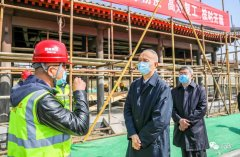 蔡奇检查城市副中心城市绿心,要求打造首都生态文明建