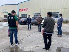 江门市生态环境局调研指导全市用车大户落实柴油货车污