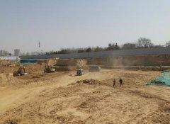 郑州市中原区一家工地黄土裸露5000平