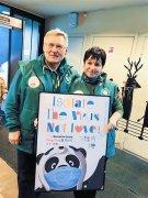 全球大熊猫科研合作单位助中国大熊猫中心抗