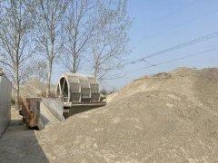 郑州市郑新快速路绿化提升工程建筑垃圾裸露上万平方米