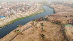 西安市委书记王浩检查督导沣河氵皂河��河治理工程建设