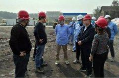 四川省生态环境厅现场指导自贡市固体