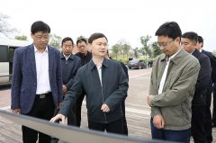 河南济源示范区管委会主任、市长石迎军调研黄河流域生