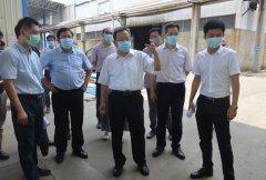 江门市领导率队检查江门市燃煤锅炉、