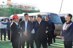 唐山市委、市政府领导到滦州雅新项目考察调研,项目建