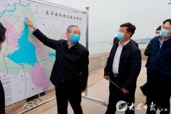 山东省领导刘家义李干杰调研东平湖生态保护